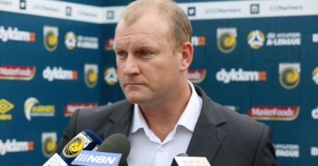 Central Coast Mariners Chief Executive Officer, Shaun Mielekamp.