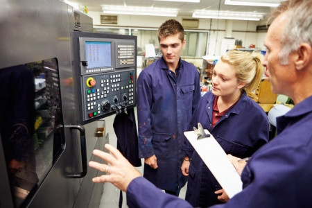 APPRENTICE NUMBERS INCREASING