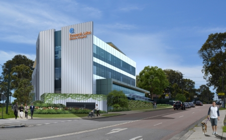 Artist's impressions of how Tuggerah Lakes Private Hospital will look when completed.