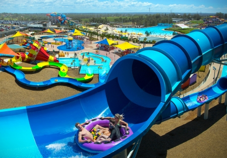 The popular Wet n Wild water park in Western Sydney has proved a success with visitors and locals alike.